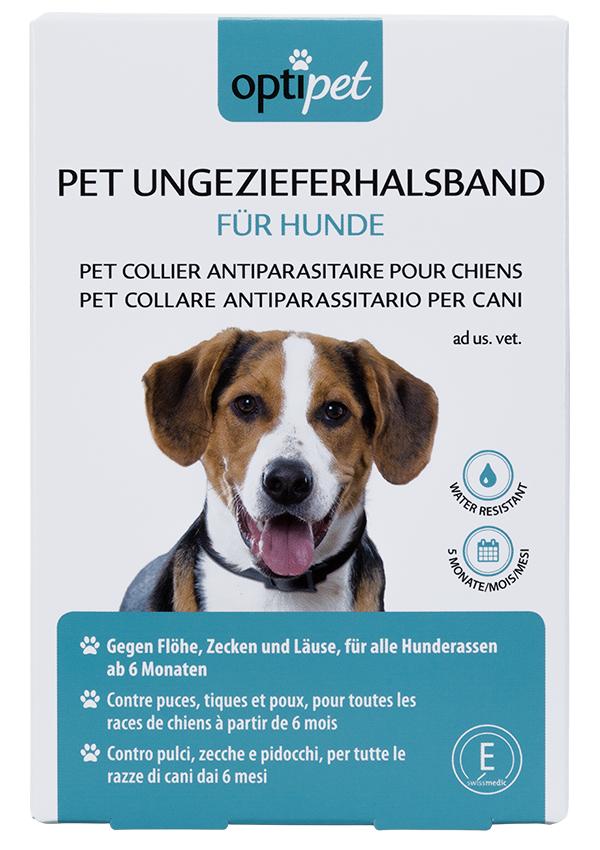 PET Ungezieferhalsband für Hunde