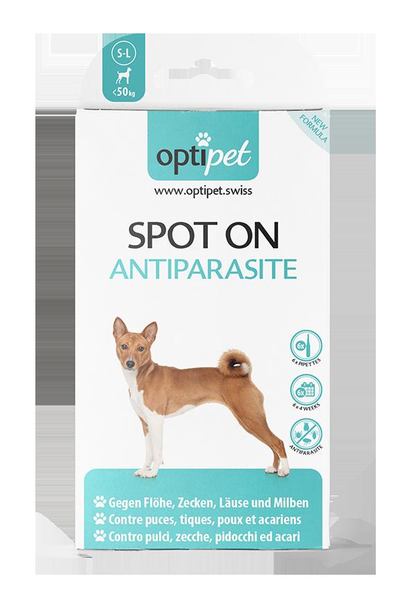SPOT ON Antiparasite für Hunde