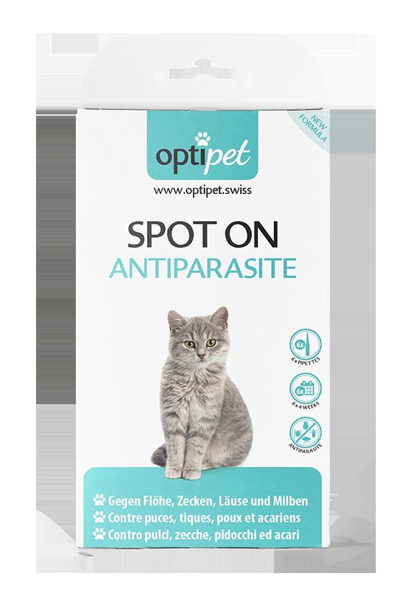 SPOT ON Antiparasite für Katzen